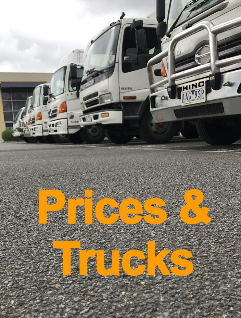 Price and trucks