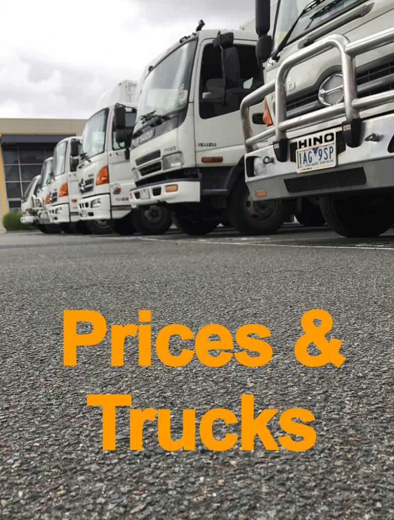 Price and trucks