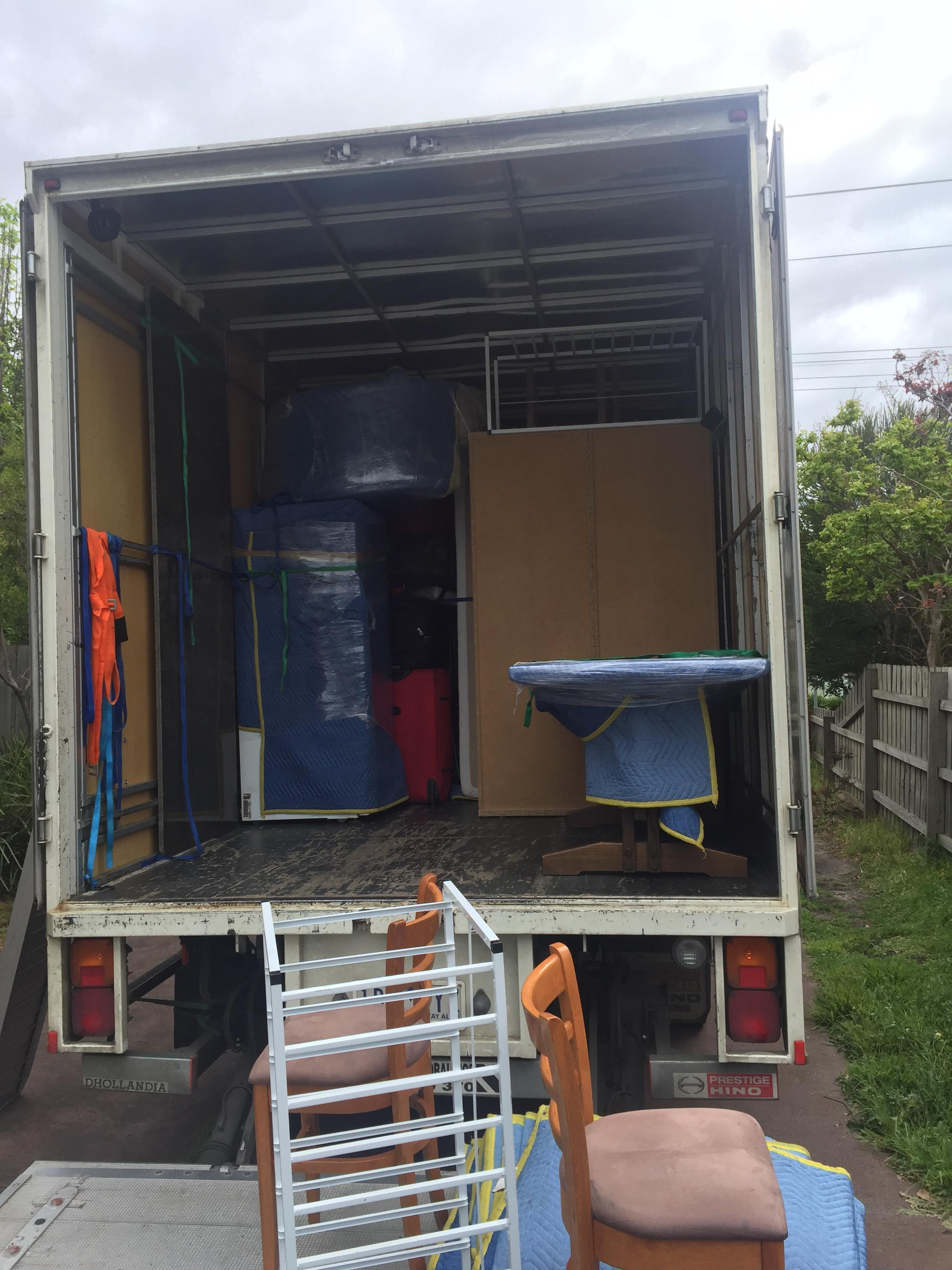 Truck-Furniture Removalists Balwyn North