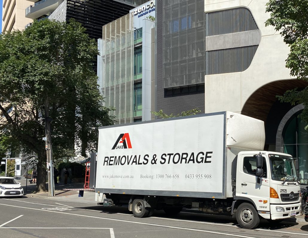 Removals Melbourne CBD Apartment
